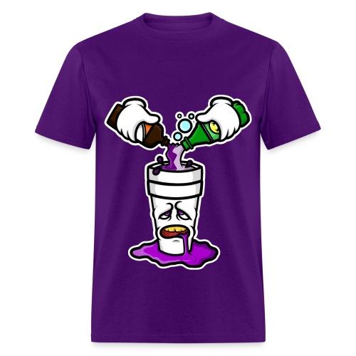 lean shirt  - Men's T-Shirt