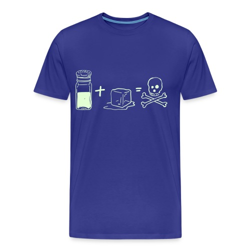 Salt and Ice (Glow in the Dark) - Men's Premium T-Shirt