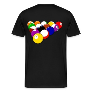 8 ball rack tshirt - Men's Premium T-Shirt