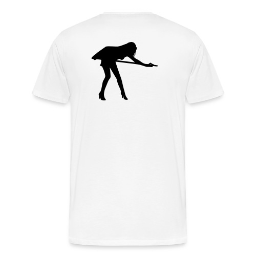 girl on table tshirt - Men's Premium T-Shirt