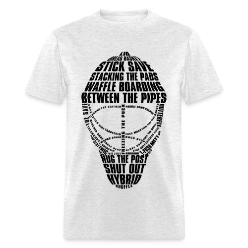 Hockey Goalie Mask - Men's T-Shirt