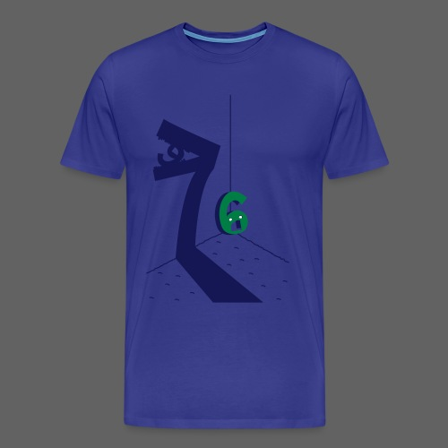 6, 7, Ate, 9, Men's Crew Neck Tee - Men's Premium T-Shirt