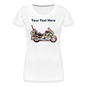 Ladies Premium T Front WingNeon Custom - Women's Premium T-Shirt