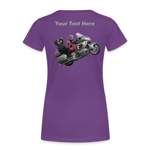 Ladies Premium T Back WingWheelie Custom - Women's Premium T-Shirt
