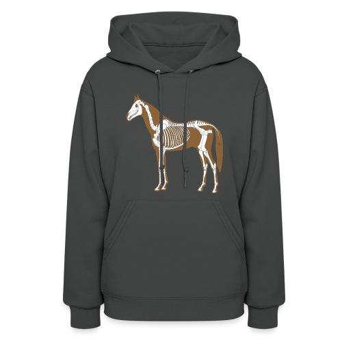 Horse Skeleton Anatomy Womens Hood - Women's Hoodie