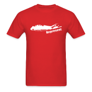 T-Shirts ~ Men's T-Shirt ~ Long Island Represent