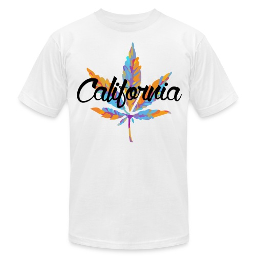 'California' T-Shirt - Men's Fine Jersey T-Shirt