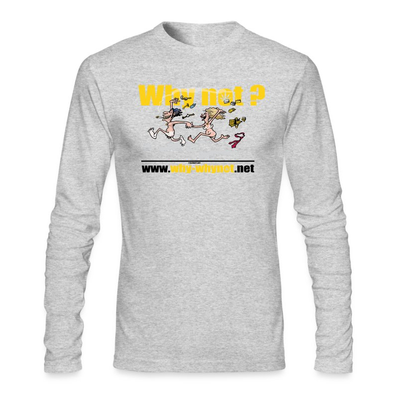 Whynot-unstress - Men's Long Sleeve T-Shirt by Next Level