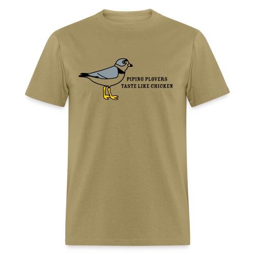 Piping Plovers Taste Like Chicken - Men's T-Shirt