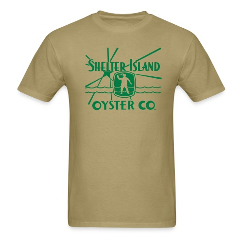 Shelter Island Oyster Co. - Men's T-Shirt