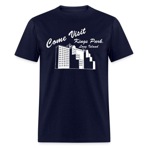 Come Visit Kings Park, Long Island - Men's T-Shirt
