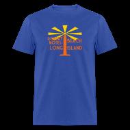 T-Shirts ~ Men's T-Shirt ~ Robert Moses Beach Long Island