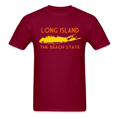 Long Island: The Beach State - Men's T-Shirt
