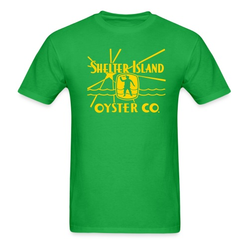 Shelter Island Oyster Co. - Men's T-Shirt