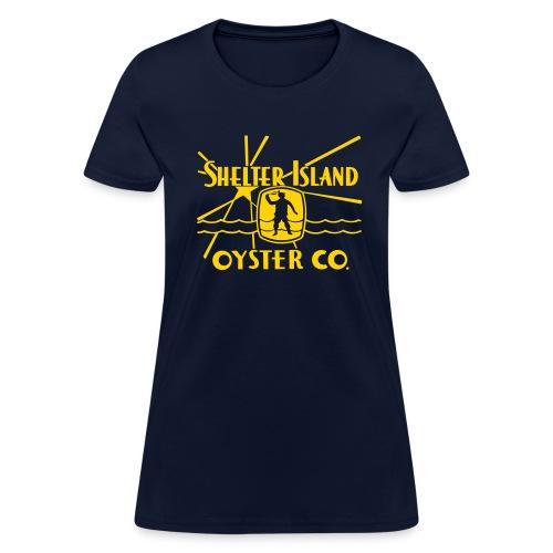 Shelter Island Oyster Co. - Women's T-Shirt