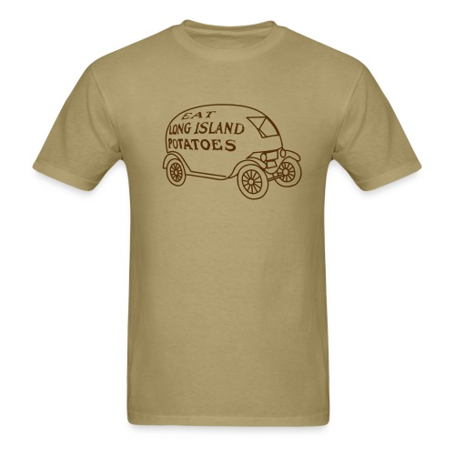 Eat Long Island Potatoes - Men's T-Shirt