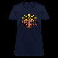T-Shirts ~ Women's T-Shirt ~ Robert Moses Beach Long Island