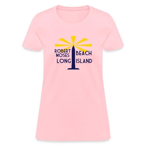 Robert Moses Beach Long Island - Women's T-Shirt