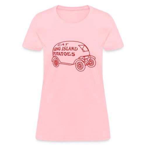 Eat Long Island Potatoes - Women's T-Shirt