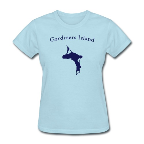 Gardiners Island - Women's T-Shirt