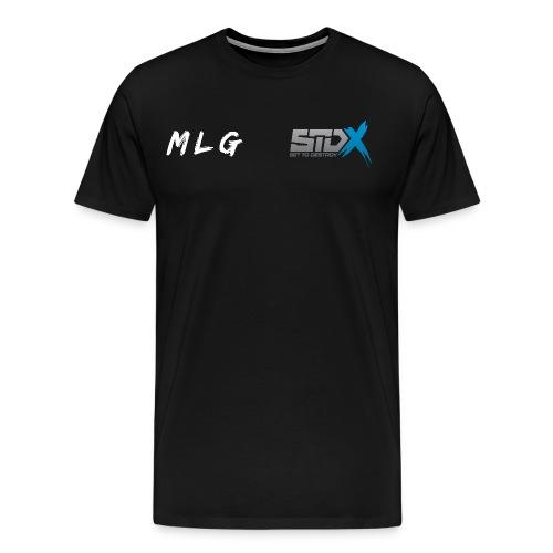 STDx/MLG Sponsor and Gamertag Mens Premium T-Shirt - Men's Premium T-Shirt