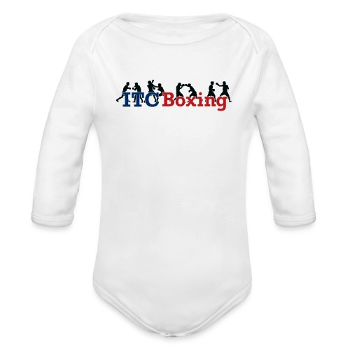 Action ITC Boxing Baby Jumper - Organic Long Sleeve Baby Bodysuit