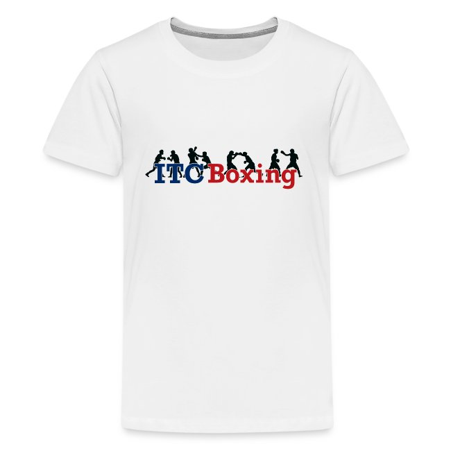 ITC Boxing Action Kids T-shirt