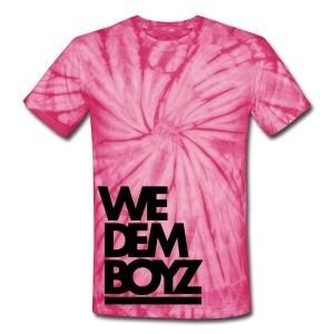 We Dem Boyz Tie Dye - Unisex Tie Dye T-Shirt