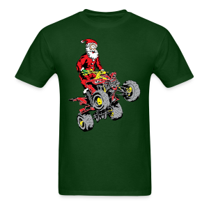 Santa Quad - Men's T-Shirt