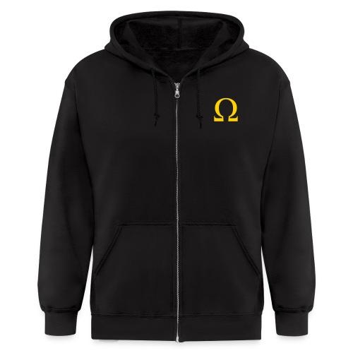 Omega Zip Hoodie - Men's Zip Hoodie