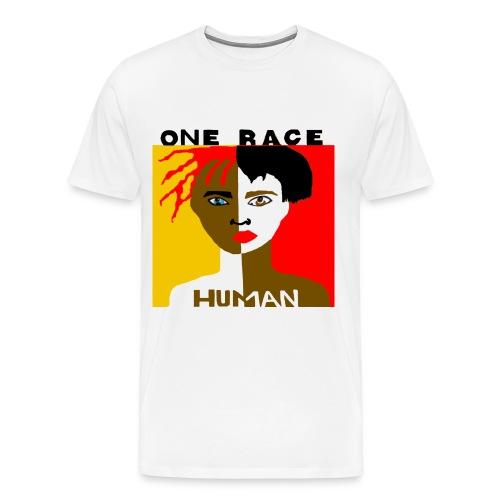 One Race Human Tee - Exclusive. - Men's Premium T-Shirt