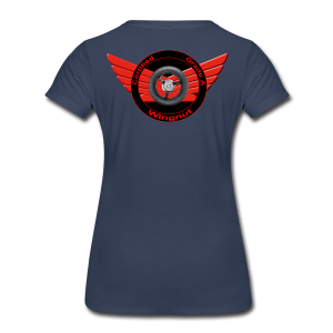 Ladies Premium T Back WingNut - Women's Premium T-Shirt