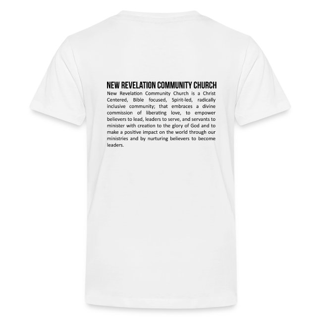 Children's T Shirt 3 - Front and Back