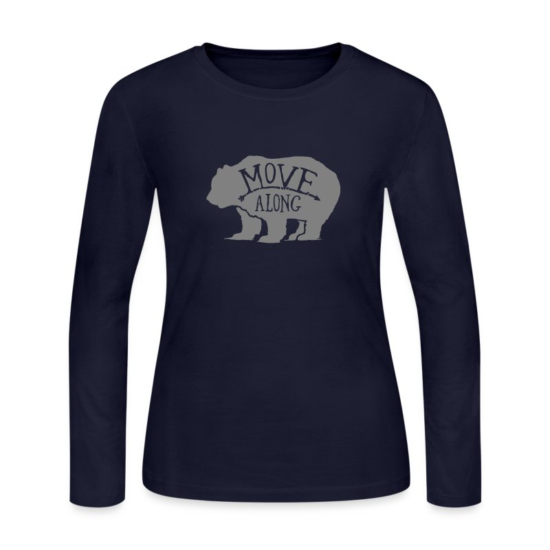 Move Along - Women's Long Sleeve Jersey T-Shirt