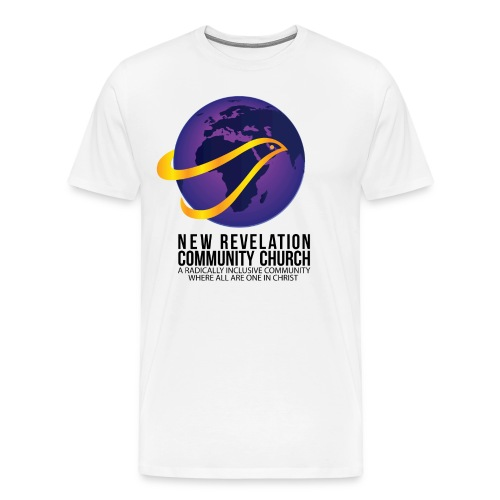Men's T Shirt 4 - Front and Back - Men's Premium T-Shirt