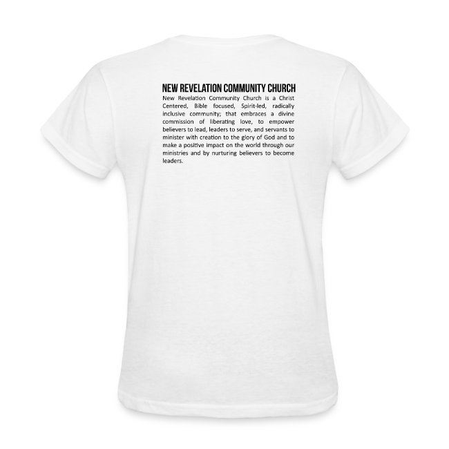 Women's T-Shirt 3 - Front and Back
