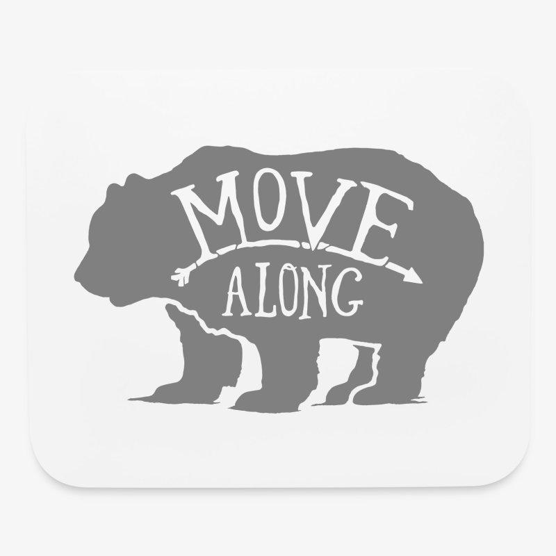 Move Along - Mouse pad Horizontal