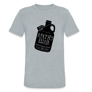 Apathy Elixir - Unisex Tri-Blend T-Shirt by American Apparel