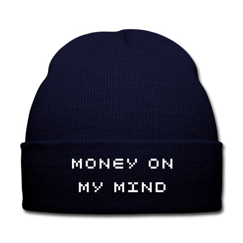 MONEY - Knit Cap with Cuff Print