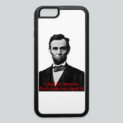 Abraham Lincoln's American Pride - iPhone 6/6s Rubber Case