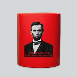 Abraham Lincoln's American Pride - Full Color Mug