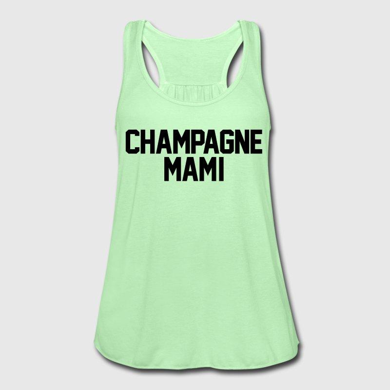champagne flowy shirt