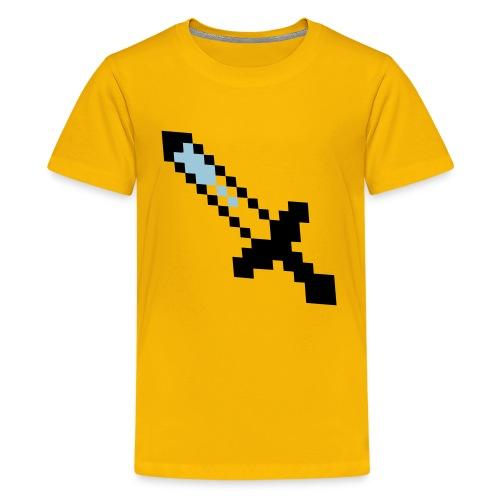 Mine Craft Sword! - Kids' Premium T-Shirt