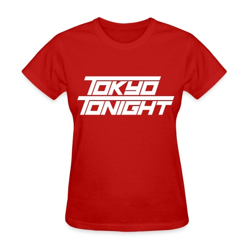 Tokyo Tonight Lady's T-shirt (light font) - Women's T-Shirt