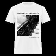 T-Shirts ~ Men's T-Shirt ~ Pro Wrestling Is Art   Korakuen Hall