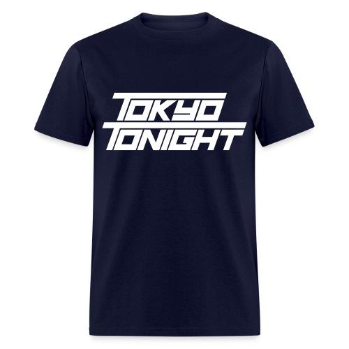 Tokyo Tonight Men's T-shirt (light font) - Men's T-Shirt