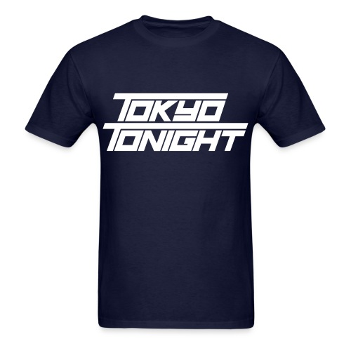 Tokyo Tonight Men's T-shirt (light font) - Men's T-Shirt