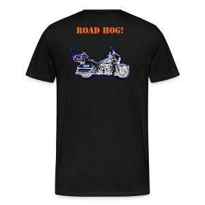 Men's Premium T Back Road Hog Neon Custom - Men's Premium T-Shirt