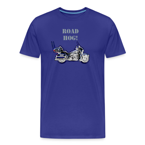 Men's Premium T Front Road Hog Custom - Men's Premium T-Shirt
