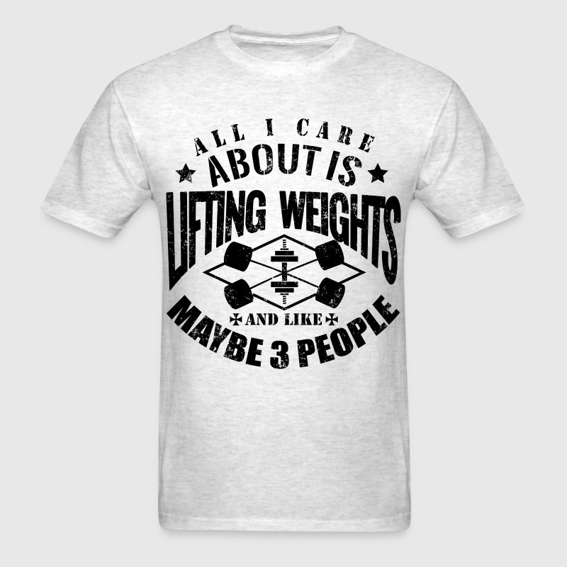 Funny Gym Sports Quotes - Men's T-Shirt